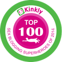 Top 100 Sex Blogs ranked by Kinkly.com